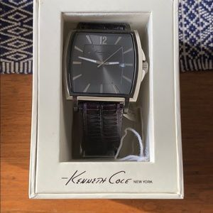 Kenneth Cole Watch- Black leather band